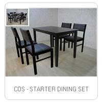COS - STARTER DINING SET